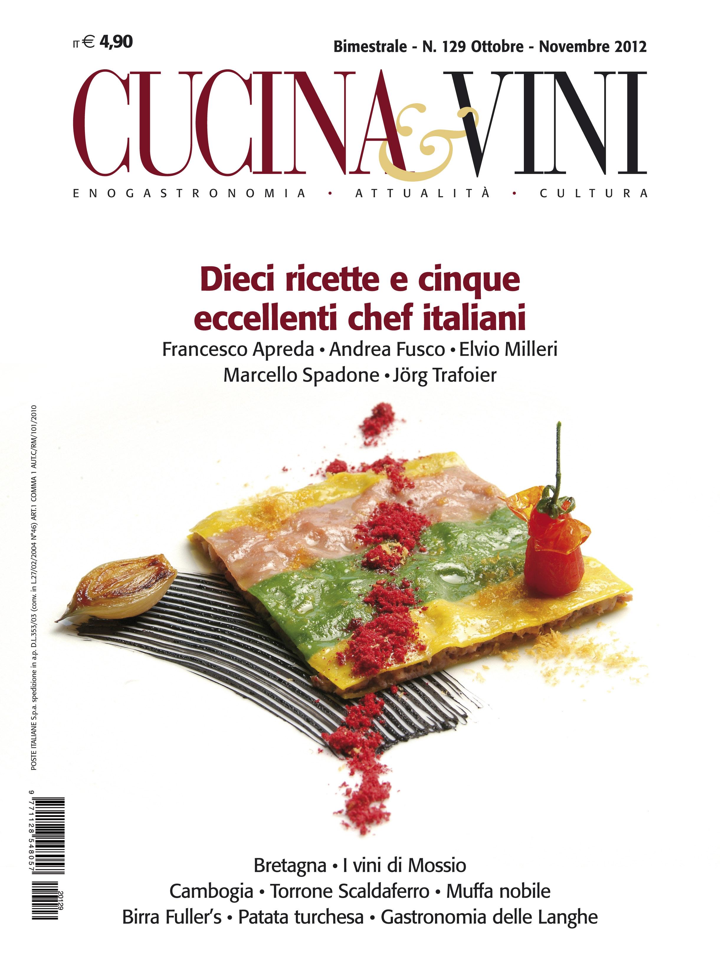il nostro prodotto di punta la rivista cucina vini la puoi trovare in edicola oppure puoi abbonarti e riceverla a casa e puoi anche sfogliarla su pc