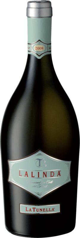 Bottiglia di Lalinda dell'azienda agricola La Tunella