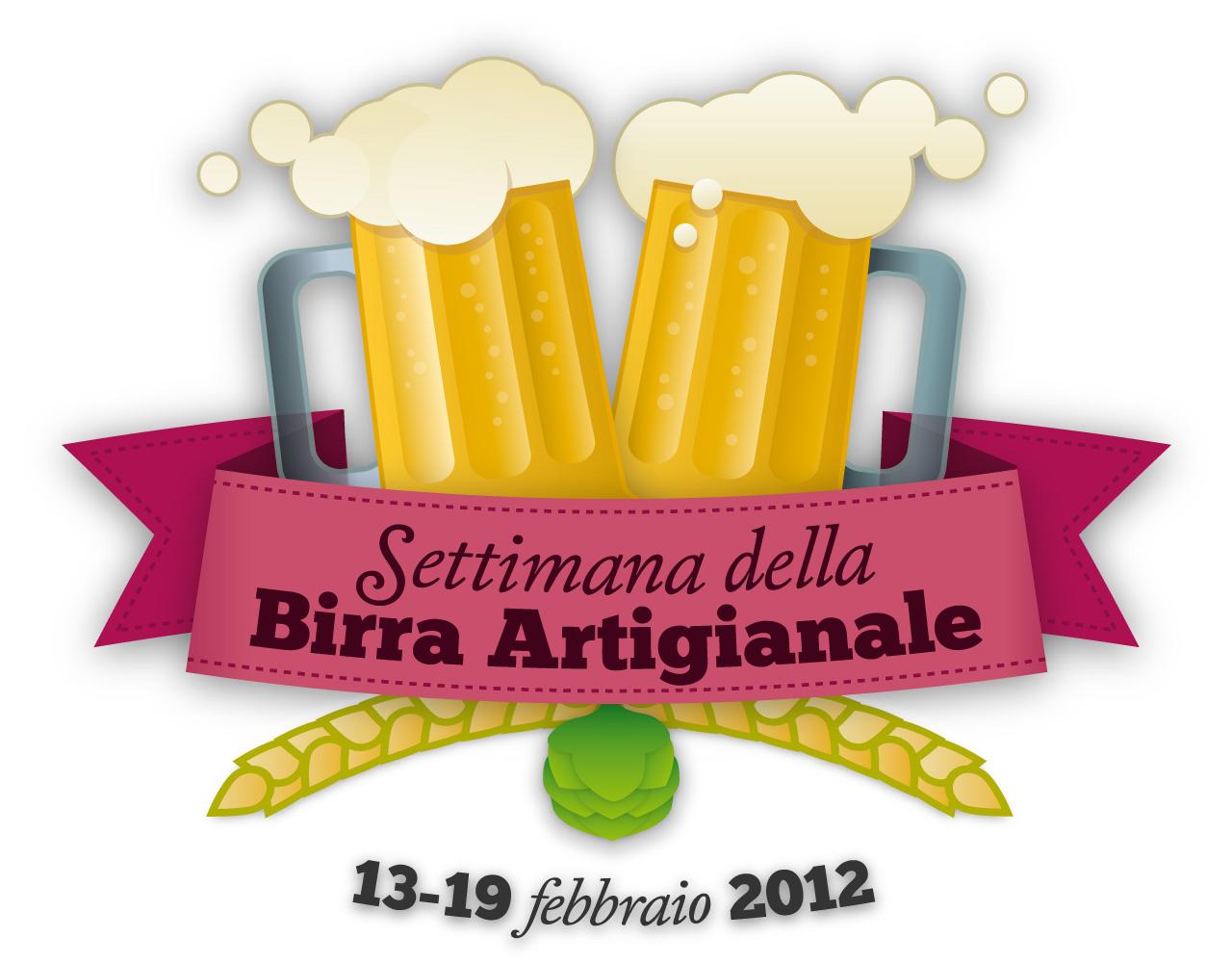 Logo della settimana della birra artigianle
