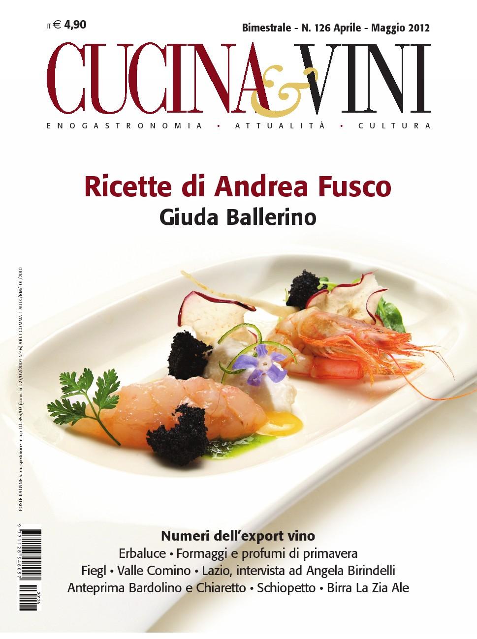 Copertina di Cucina & Vini