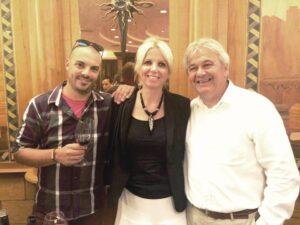 Ines Sprem con produttori Clai e Trapan[1]
