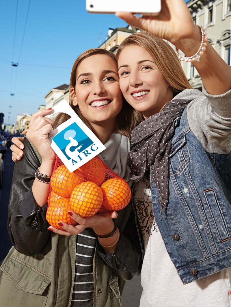 JRE e AIRC uniti dalle arance della salute