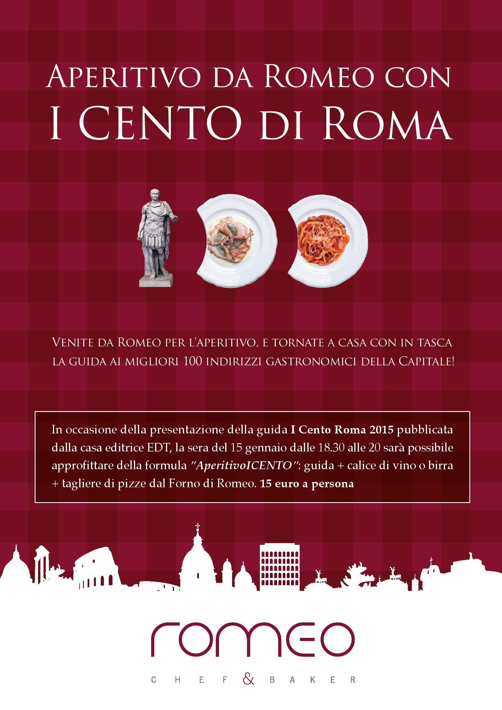 Seconda edizione de I Cento di Roma - La guida che racconta il buono della Capitale