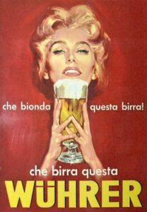 Immagine Bionda per locandina