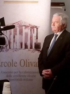 Giorgio Mencaroni, Presidente del Comitato di Coordinamento del Concorso