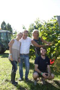 LM_060915_Anna Balbinot (figlia), Ernesto Balbinot (titolare Le Manzane), Silvana Ceschin (moglie) e Marco Balbinot (figlio)