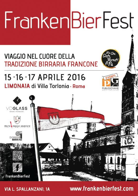 FrankenBierFest a Roma  15-17 aprile 2016