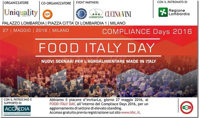 FOOD ITALY DAY