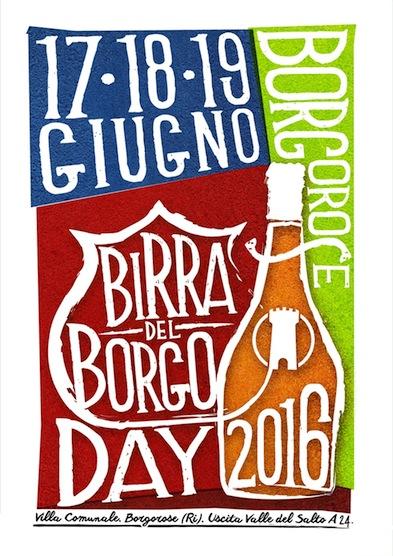 Birra del Borgo Day 2016 - 17-19 giugno Borgorose (RI)