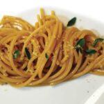 Spaghetti alla colatura di peperoni
