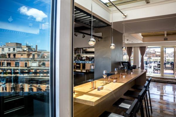 Nuova veste per Giuda Ballerino! Il ristorante dell' Hotel Sina Bernini Bristol di Roma