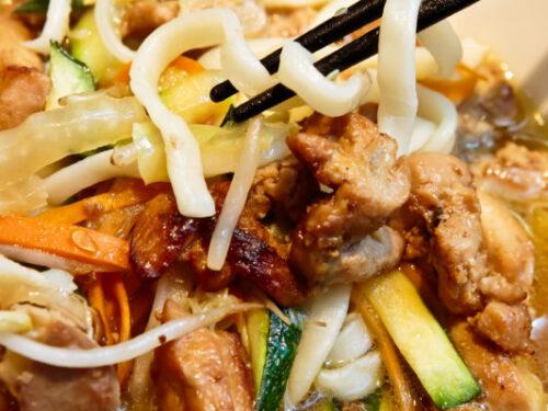 Ricetta Noodles Giapponesi Pollo.Noodle Saltati Con Pollo In Salsa Teriyaki Cucina Vini