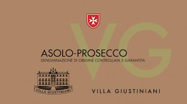 Asolo Prosecco Superiore Villa Giustiniani Brut - Sparkle 2018