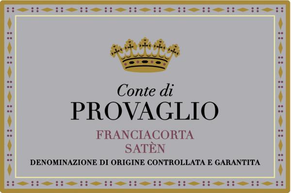 Franciacorta Conte di Provaglio Satèn - Sparkle 2018