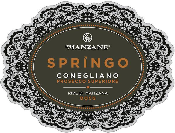 Conegliano Prosecco Superiore Rive di Manzana Springo Dry 2016 - Sparkle 2018