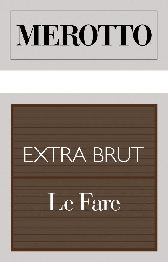 Le Fare Extra Brut - Sparkle 2018