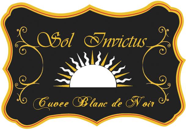 Sol Invictus Cuvée Blanc de Noir Brut 2013 - Sparkle 2018