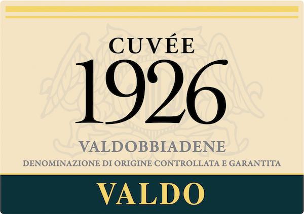 Valdobbiadene Cuvée 1926 Extra Dry - Sparkle 2018