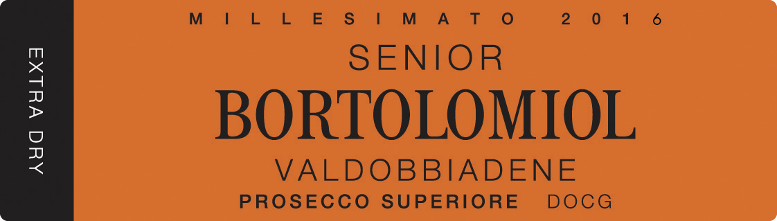 Valdobbiadene Prosecco Superiore Senior Extra Dry 2016 - Sparkle 2018
