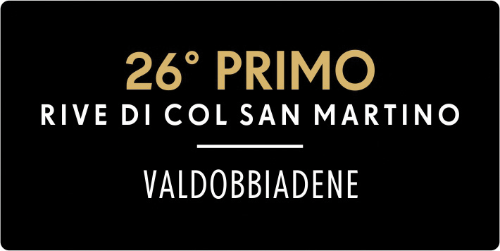 Valdobbiadene Rive di Col San Martino 26° Primo Brut 2016 - Sparkle 2018