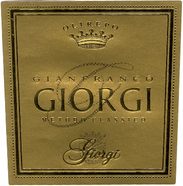 Oltrepò Pavese Metodo Classico Pinot Nero Gianfranco Giorgi Brut 2014 - Sparkle 2018