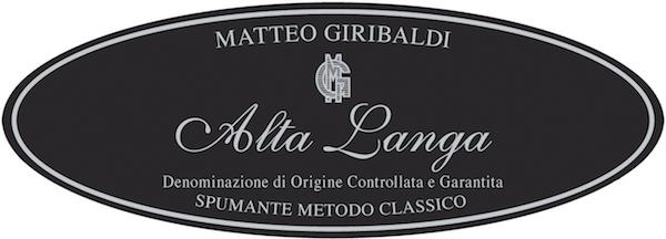 Alta Langa Matteo Giribaldi Brut 2013 - Sparkle 2018