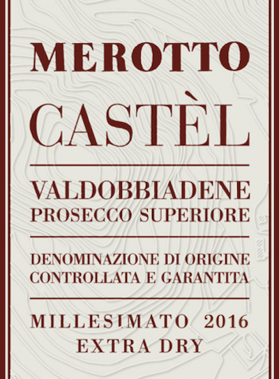 Valdobbiadene Prosecco Superiore Castèl Extra Dry 2016 - Sparkle 2018