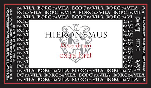 Hieronimus Rosé di Neri Extra Brut - Sparkle 2018
