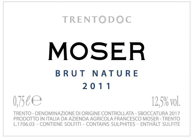 Trento Nature Brut 2011 - Sparkle 2018