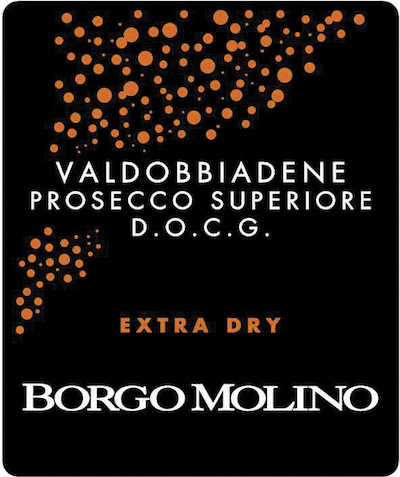 Valdobbiadene Prosecco Superiore Extra Dry - Borgo Molino - Sparkle 2018