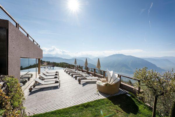Dimore con Gusto – Relax en plein air all'Hotel Belvedere di San Genesio (Bz)
