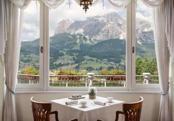 Cena cinematrografica al Cristallo Luxury Collection Resort & Spa, Cortina d'Ampezzo