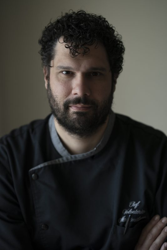 Dimore con Gusto – E' Massimiliano Volonterio il nuovo chef del Palmaria Restaurant del Grand Hotel Portovenere