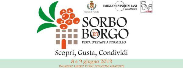 SORBO IN BORGO – FESTA DELL'ESTATE 8,9 giugno 2019