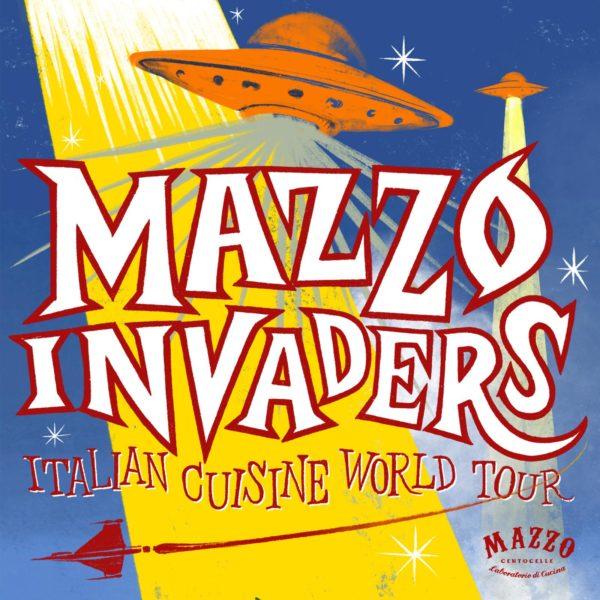 Mazzo Invaders. Le date del tour mondiale dei The Fooders