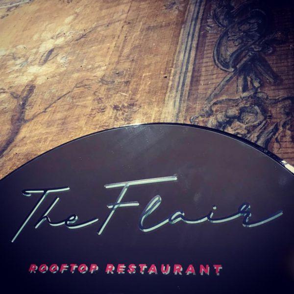 The Flair Rooftop Restaurant – La terrazza gourmet dell'Hotel Sina Bernini Bristol di Roma