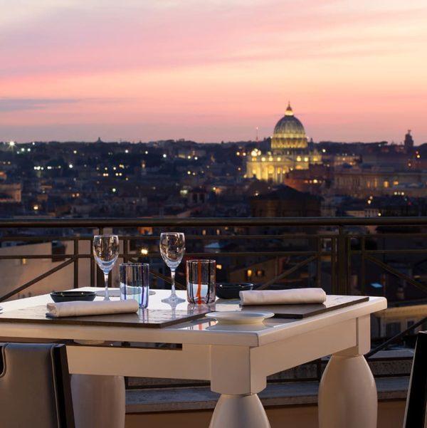 The Flair Rooftop Restaurant La Terrazza Gourmet Dell