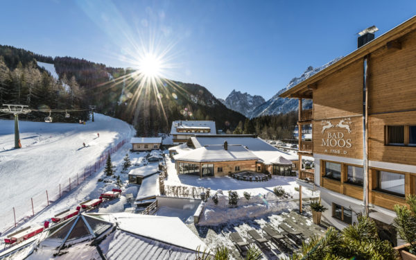 Dimore con Gusto – Bad Moos Dolomites Spa Resort in Val Fiscalina