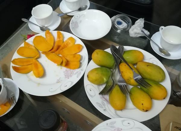 Fette di mango