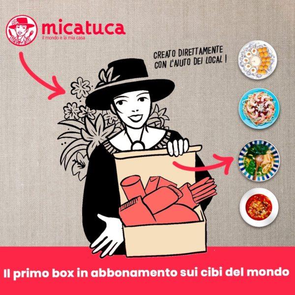 MICATUCA IL PRIMO BOX IN ABBONAMENTO SUI CIBI DEL MONDO