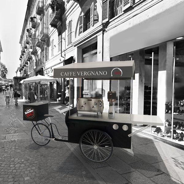 Caffè Vergnano lancia lo street coffee