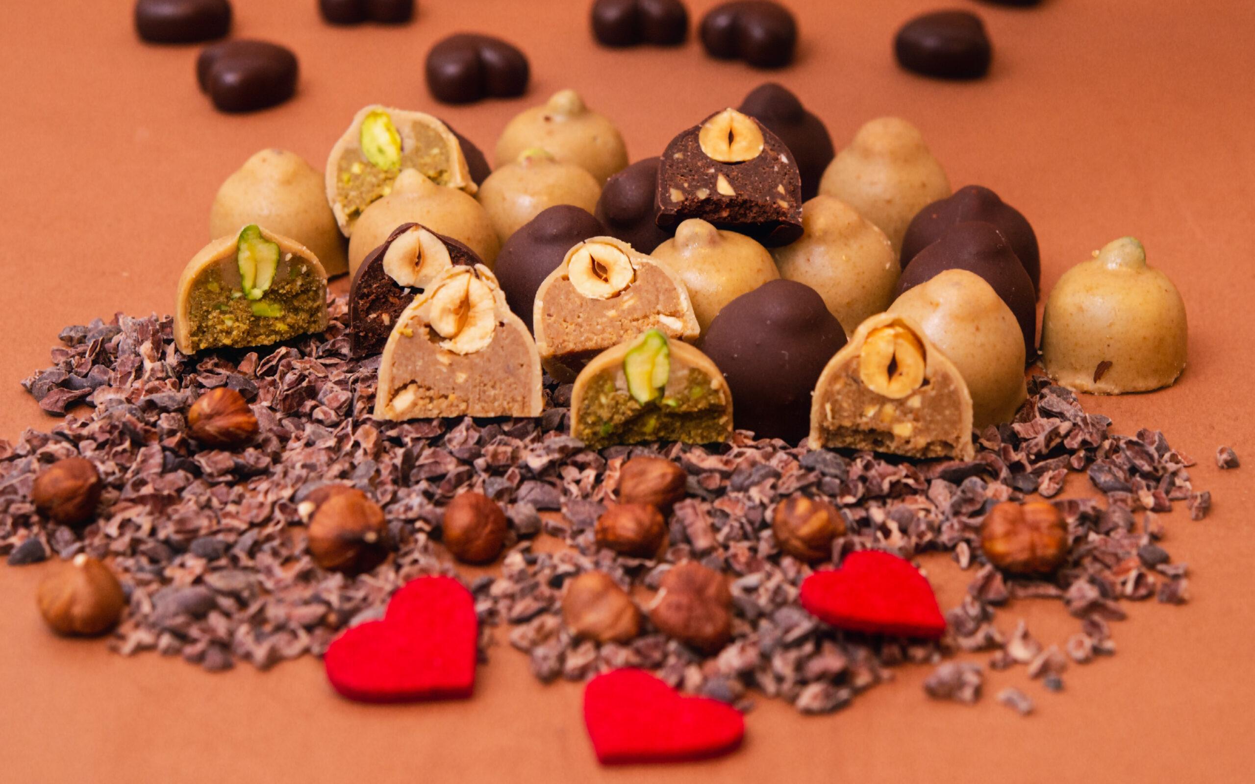 Il San Valentino dolce (e crudista) di  Grezzo Raw Chocolate