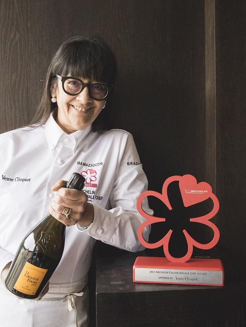 Isa Mazzocchi è la miglior chef 2021 by Veuve Clicquot
