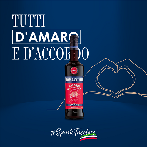 Ramazzotti sostiene il fai con #spiritotricolore